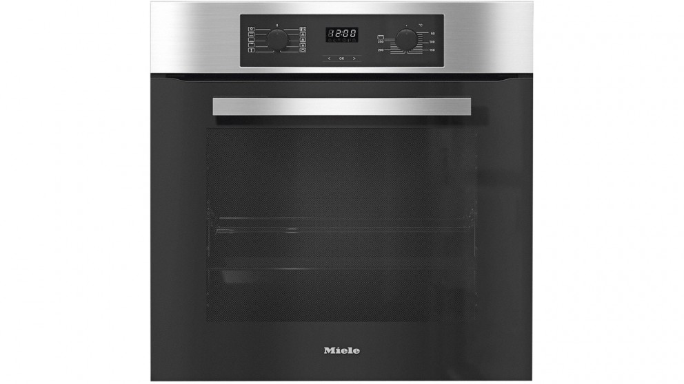 Miele 60cm 8-Function Oven - Clean Steel