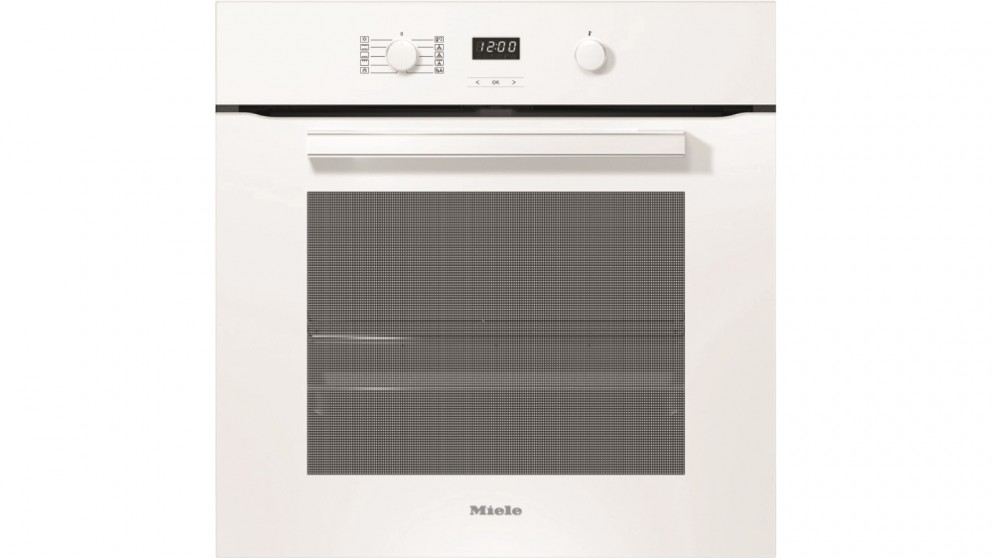 Miele H 2860 BP Vitroline 600mm Pyrolytic Oven - Brilliant White