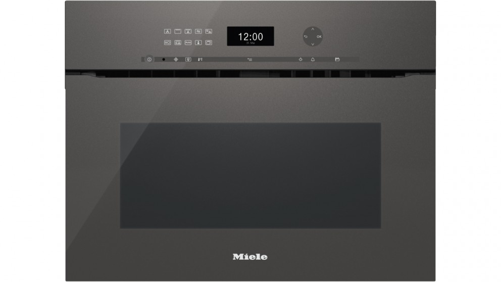 Miele ArtLine Handleless Built-In Microwave Combination Speed Oven - Grey