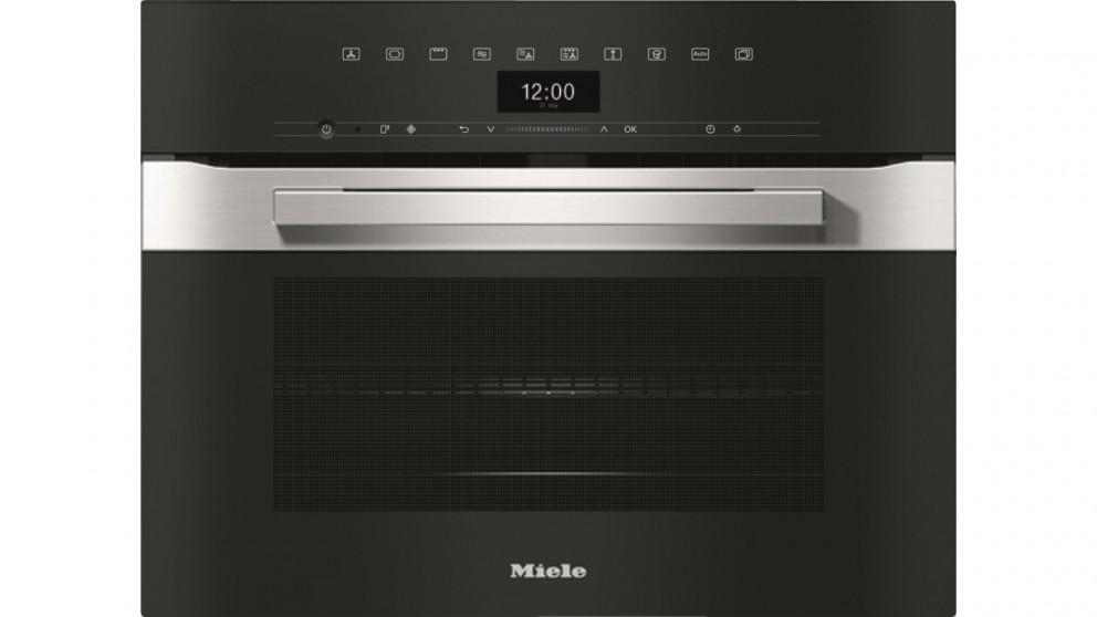 Miele H 7440 BM Pureline Speed Oven - Clean Steel