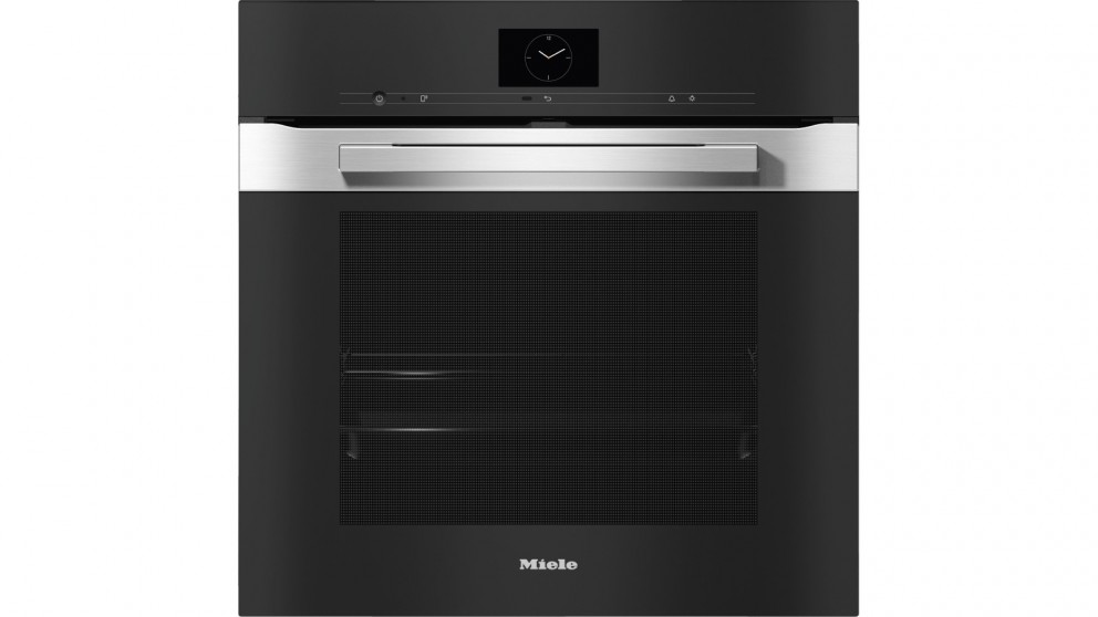 Miele H 7660 BP Pureline 600mm Pyrolytic Oven - Clean Steel
