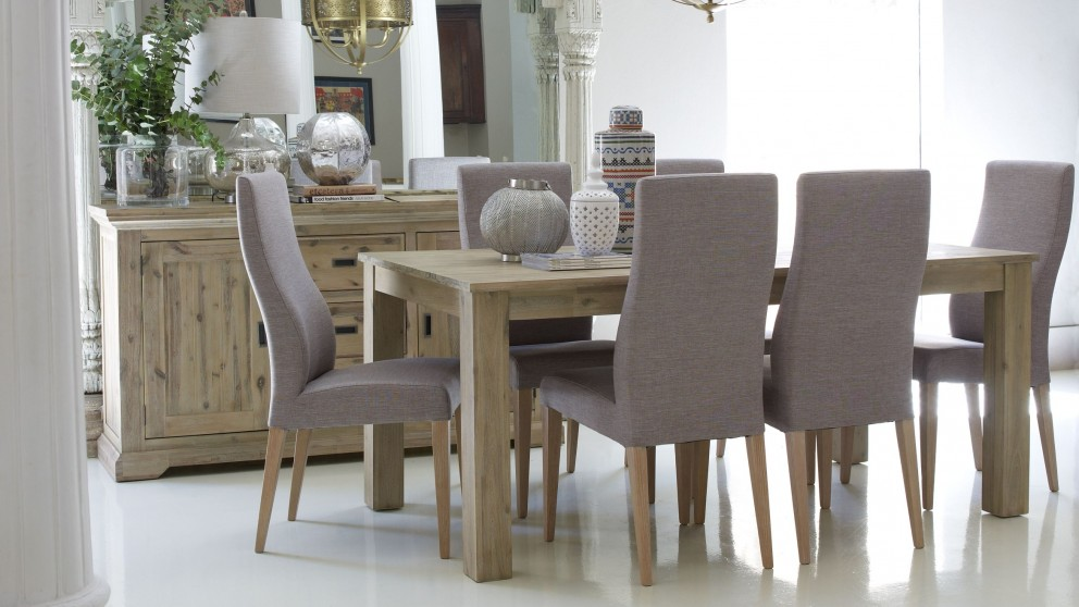 Buy Hampton 7 Piece Dining Setting Harvey Norman AU
