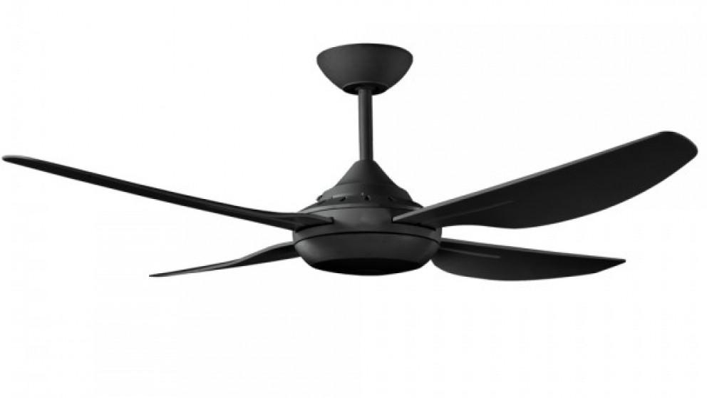 Ventair Harmony II 122cm 4 Blade Ceiling Fan - Black