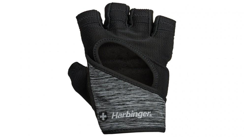 Harbinger Medium Women's Flexfit Gloves - Black