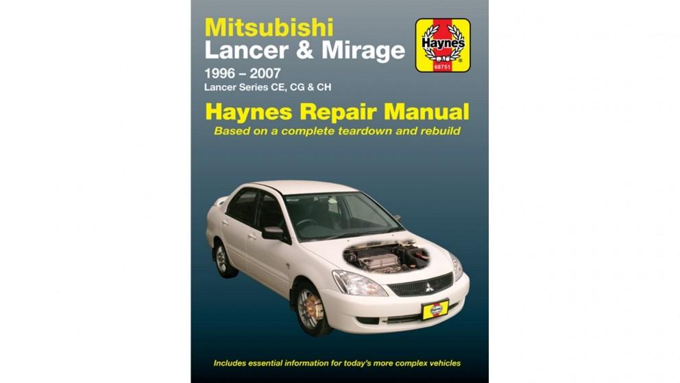 Haynes Mitsubishi Lancer 1996-2007 Repair Manual