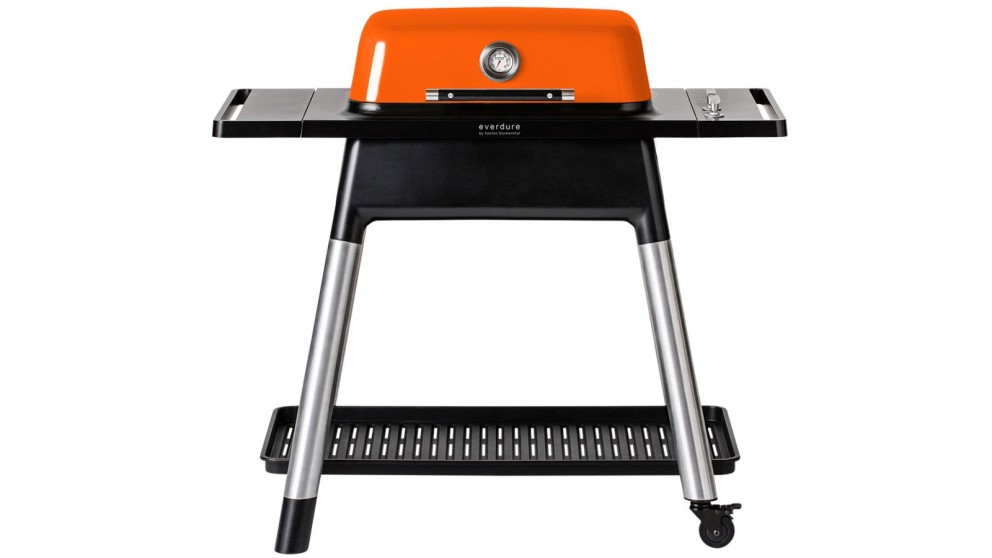 Everdure by Heston Blumenthal Force 2 Burner BBQ with stand - Orange