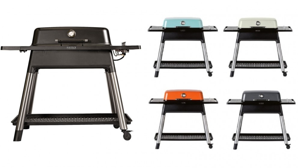 Everdure by Heston Blumenthal FURNACE 3 Burner Gas BBQ with Stand