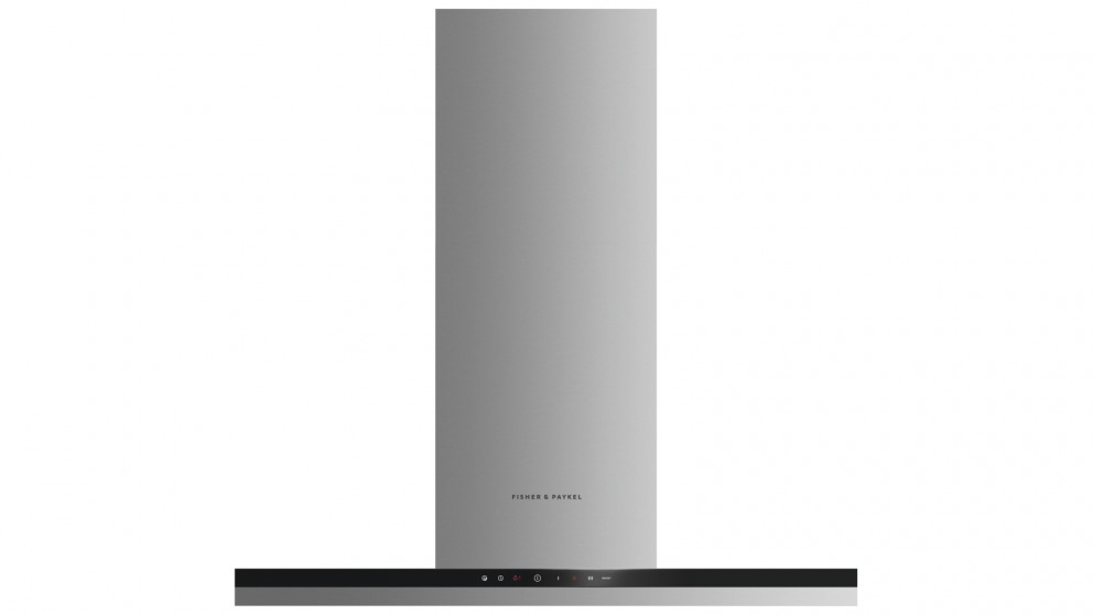 Fisher & Paykel 900mm Box Chimney Wall Rangehood with External Motor