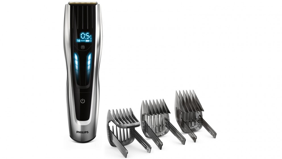 Philips Series 9000 Hair Clipper with Motorised Comb - Silver