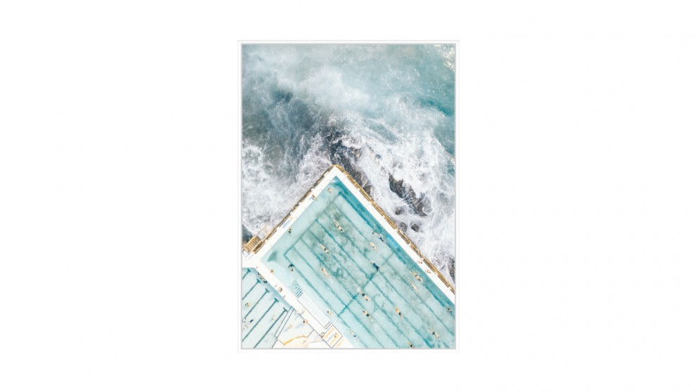 Cooper & Co. Swimming Laps Ready to Hang Canvas Wall Art - 100 x 140cm