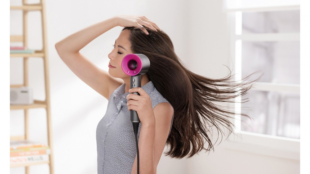 Fuchsia bathroom accessories - Dyson Supersonic Hair Dryer Iron Fuchsia Hair Dryers