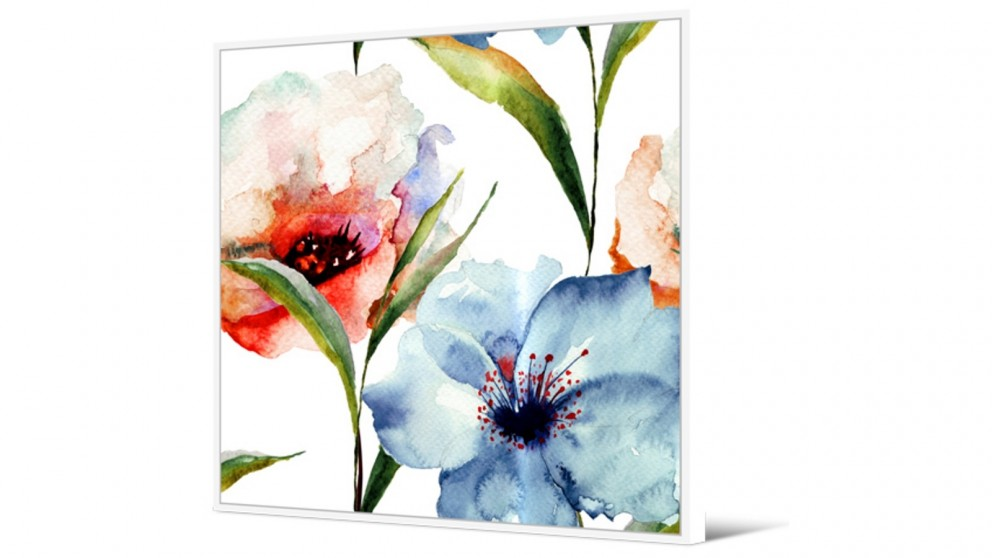 Cooper & Co. 100x100cm Sweet Florals Ready To Hang Canvas Wall Art