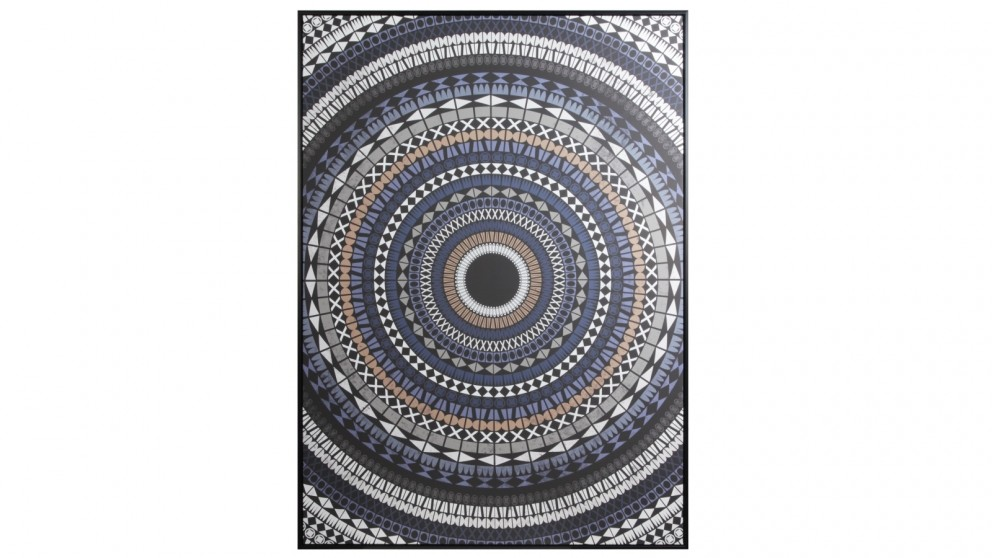 Cooper & Co. 143x102cm Organised Chaos Ready To Hang Canvas Wall Art