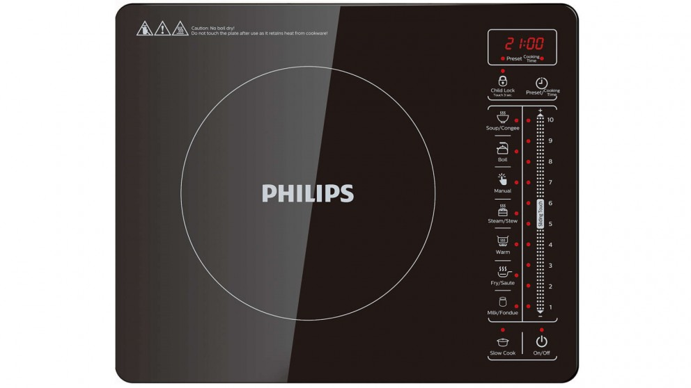 Philips Premium Collection 2100W Portable Induction Cooker