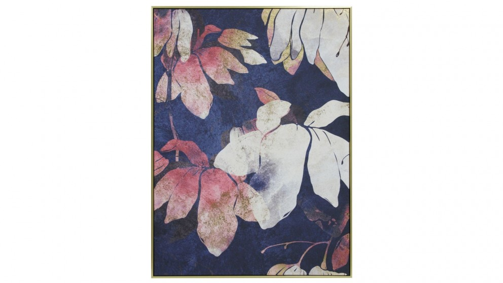 Cooper & Co. 100x140cm Blue Gum Leaves Ready To Hang Canvas Wall Art