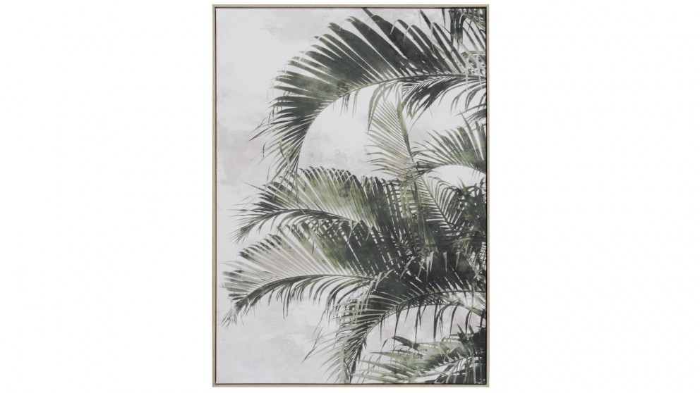 Cooper & Co. 100x140cm Palm Frond Ready To Hang Canvas Wall Art