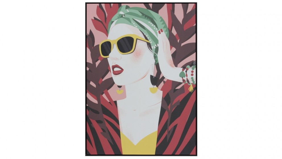 Cooper & Co. 100x140cm Yellow Shades Ready To Hang Canvas Wall Art