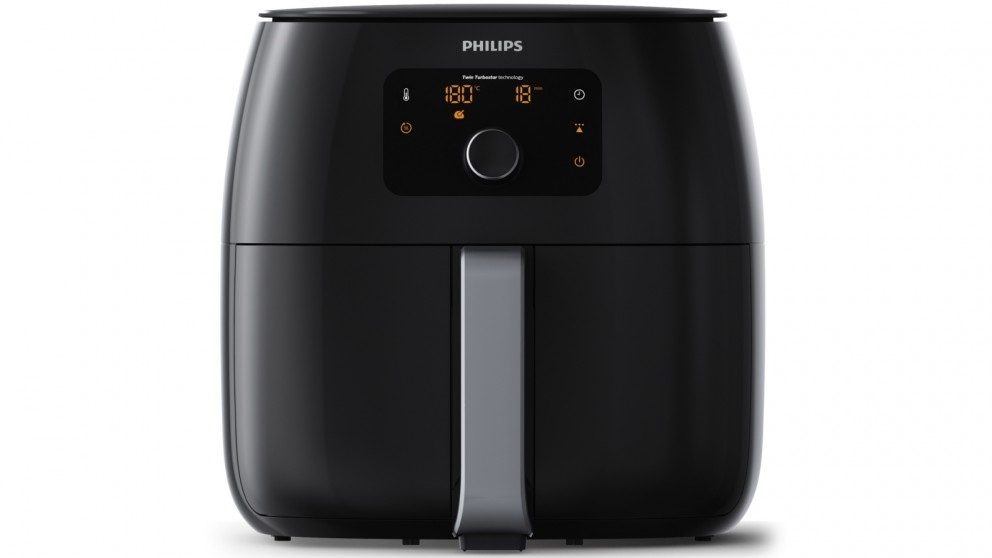 Philips Twin TurboStar Digital Airfryer XXL - Black