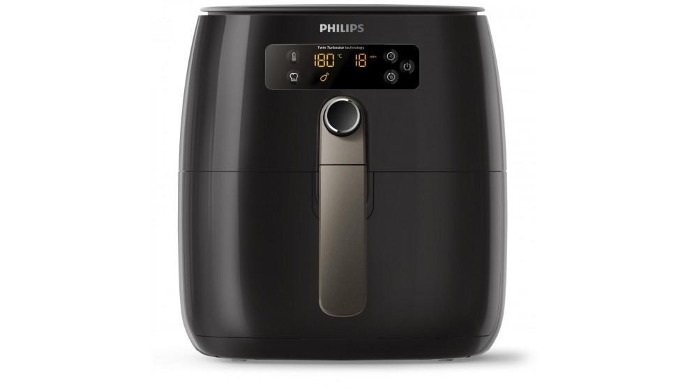 Philips Twin TurboStar Digital Airfryer - Black
