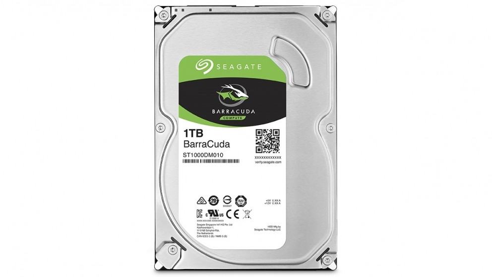 Seagate BarraCuda 1TB 3.5-inch Internal Hard Drive