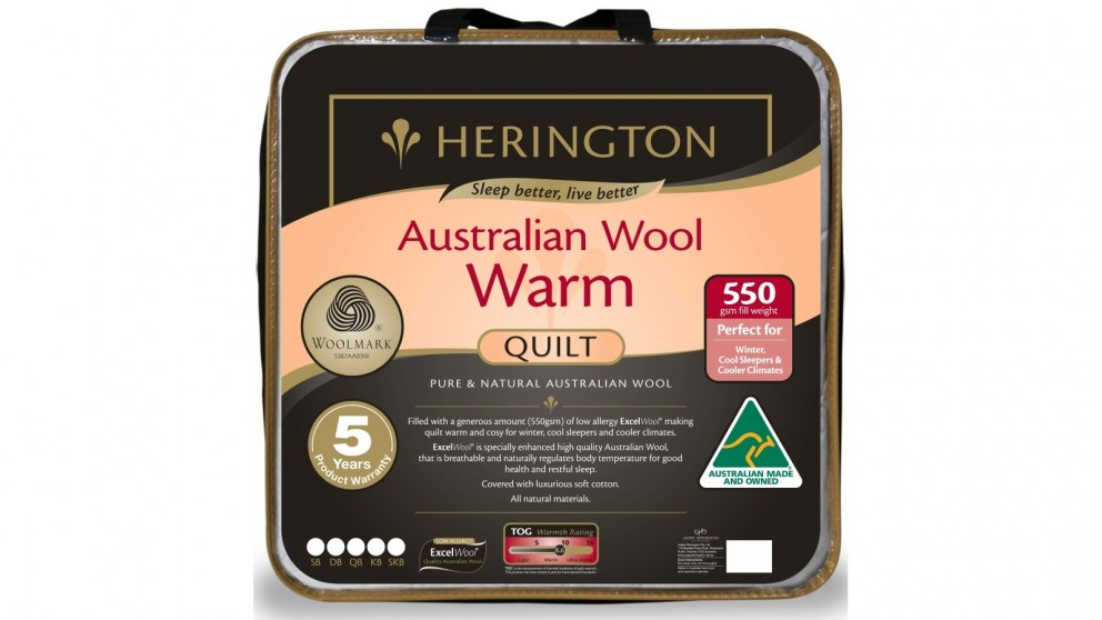 Herington Warm Wool Quilt