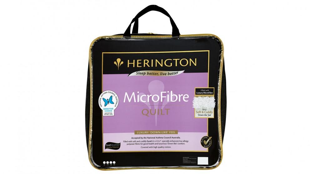 Herington Excel Microfibre Super King Quilt