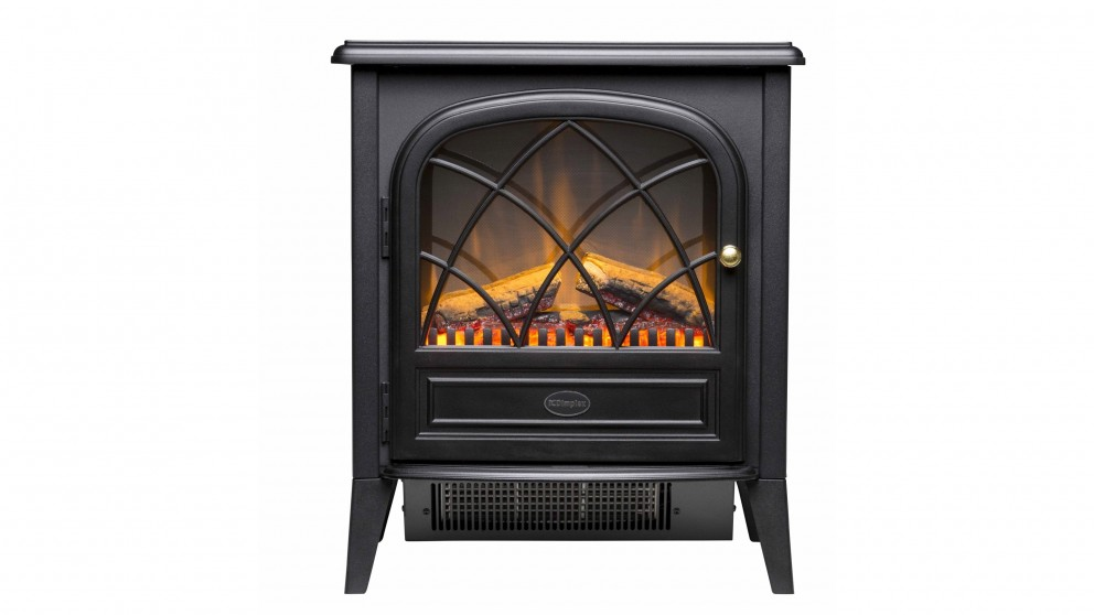 Dimplex Ritz Portable Electric Fire with Optiflame Log Effect Heater