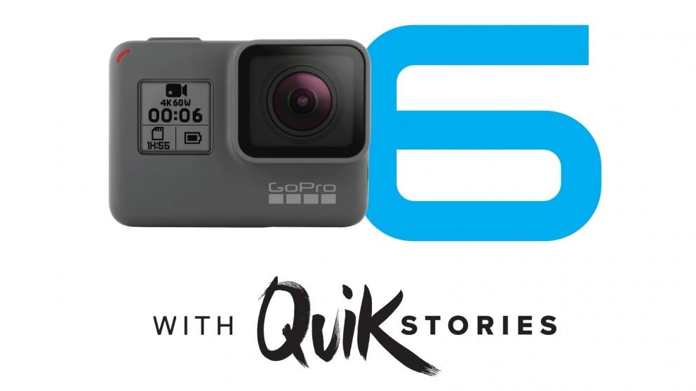 GoPro HERO6 Action Video Camera - Black