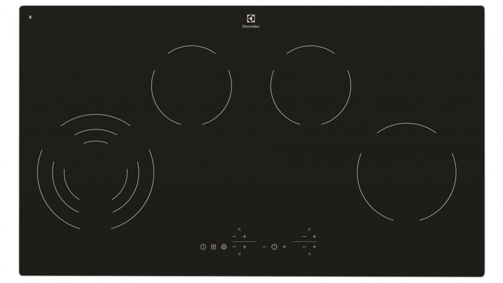 Electrolux 900mm 4 Zone Touch Control Ceramic Cooktop