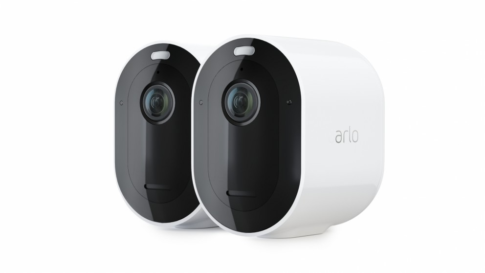 Arlo Pro 4 2K Spotlight Wire-Free Security Camera with HDR - 2 Camera Pack