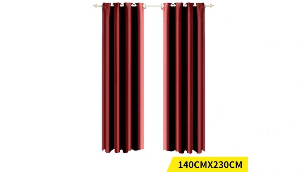 DreamZ 2-Panel 140x230cm Blockout Curtain