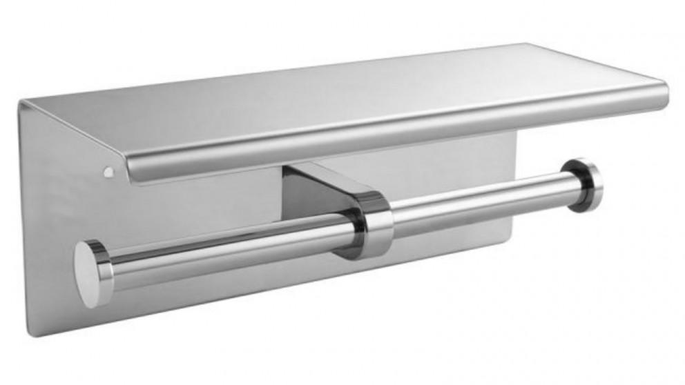 Steel Double Toilet Paper Roll Holder