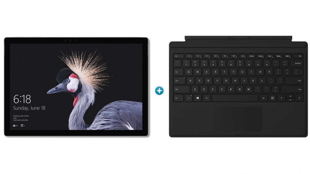 Microsoft Surface Pro m3 / 4GB / 128GB with Black Type Cover