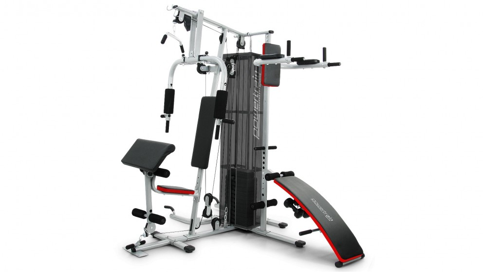Buy Powertrain Multi Station Home Gym With Weights