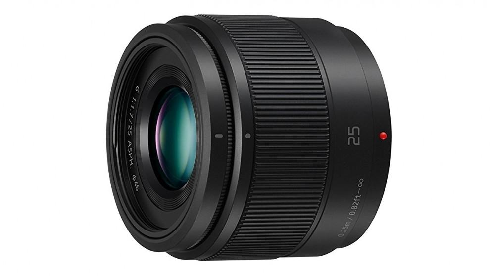 Panasonic Lumix G H-H025E 25mm F1.7 Camera Lens