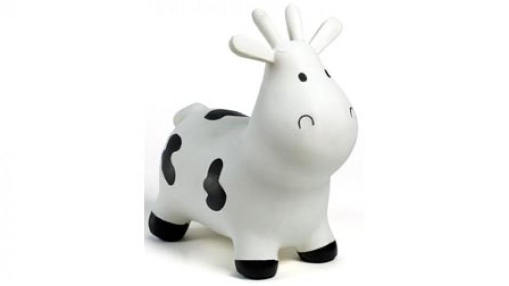 Happy Hopperz Cow - White SM