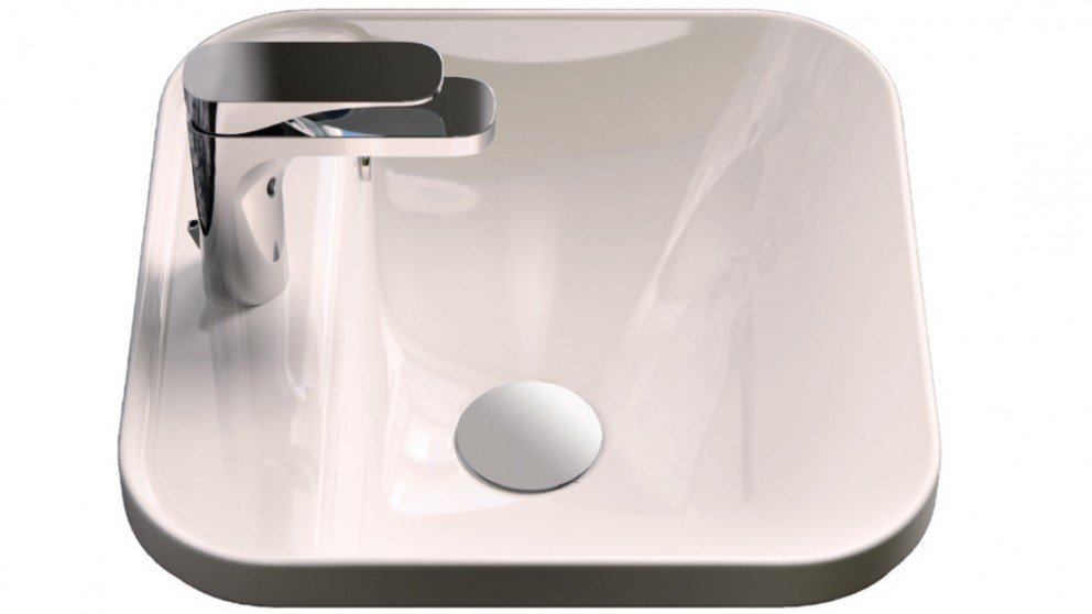 Parisi Gio Evolution 40x40cm Square Inset Basin with 1 Tap Hole