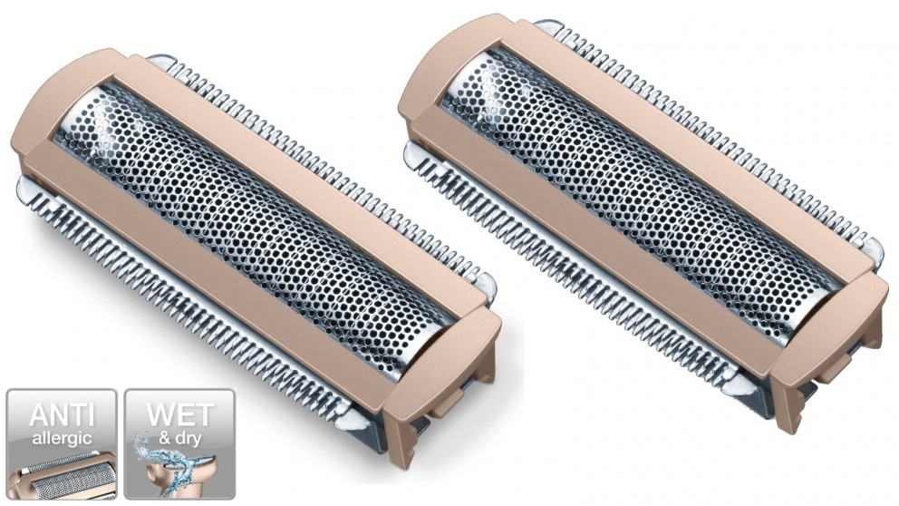 Beurer Lady Shaver Replacement Shaving Foil Heads Twin Pack