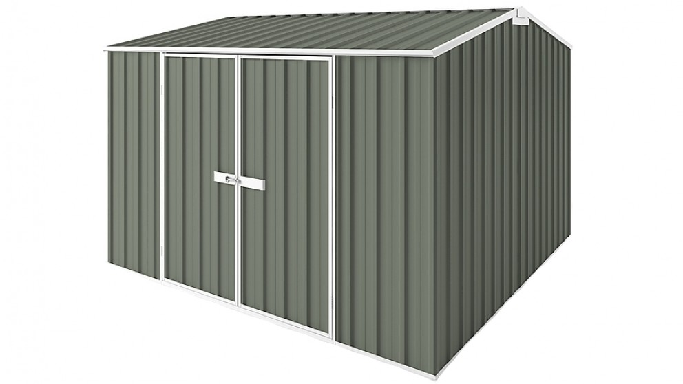 EasyShed Gable Garden Shed - Mist Green