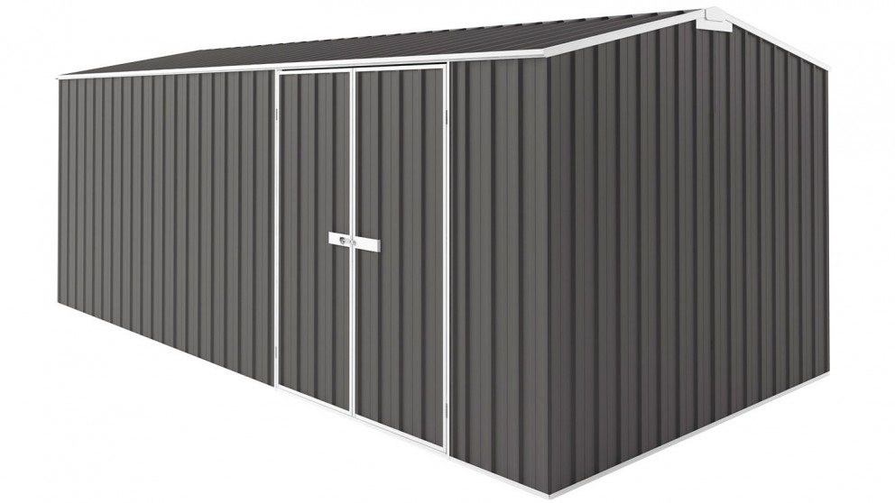 EasyShed Gable Truss Garden Shed - Slate Grey