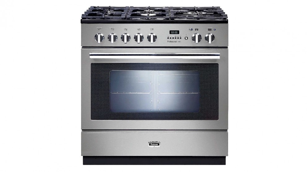 Falcon 900mm Pyrolytic Freestanding Cooker - Stainless Steel