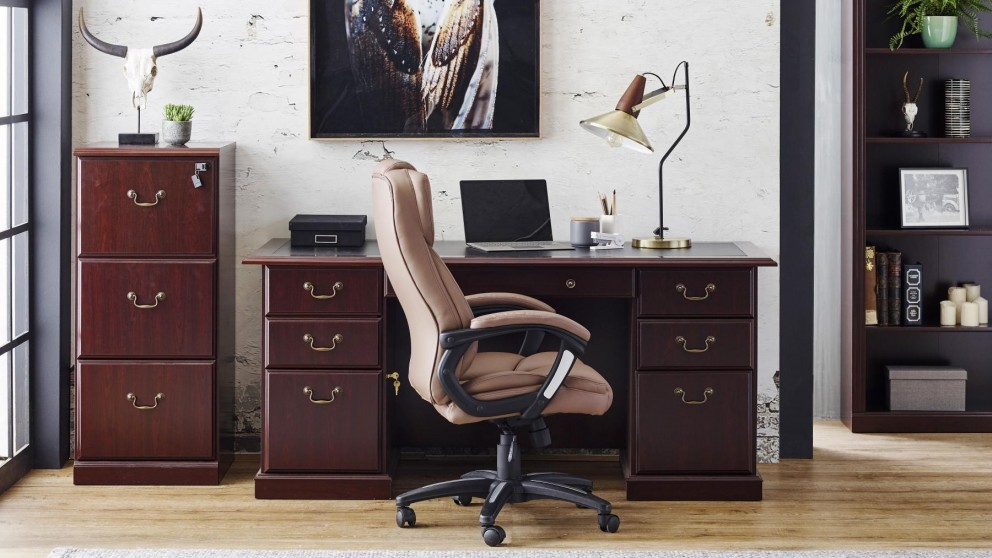 buy huon small executive desk harvey norman au rh harveynorman com au small executive office desk small executive desks for office