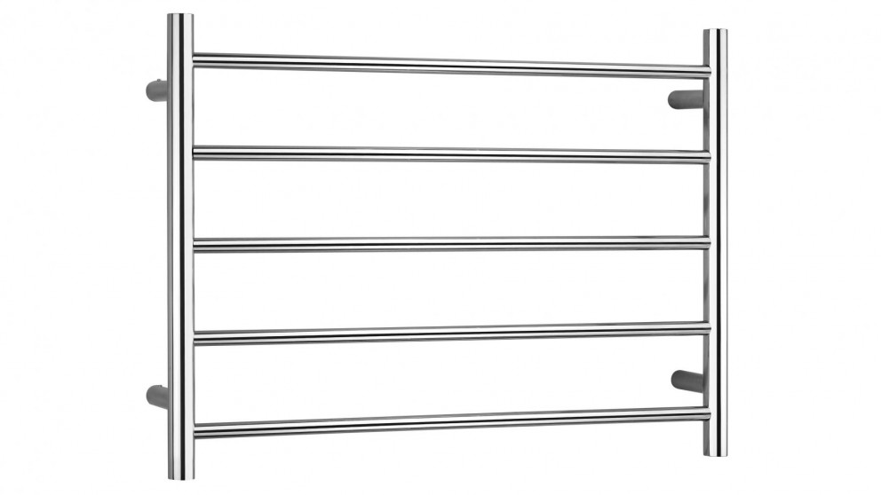 Linsol Allegra 5 Bar Stainless Steel Dual Wire Heated Towel Rail