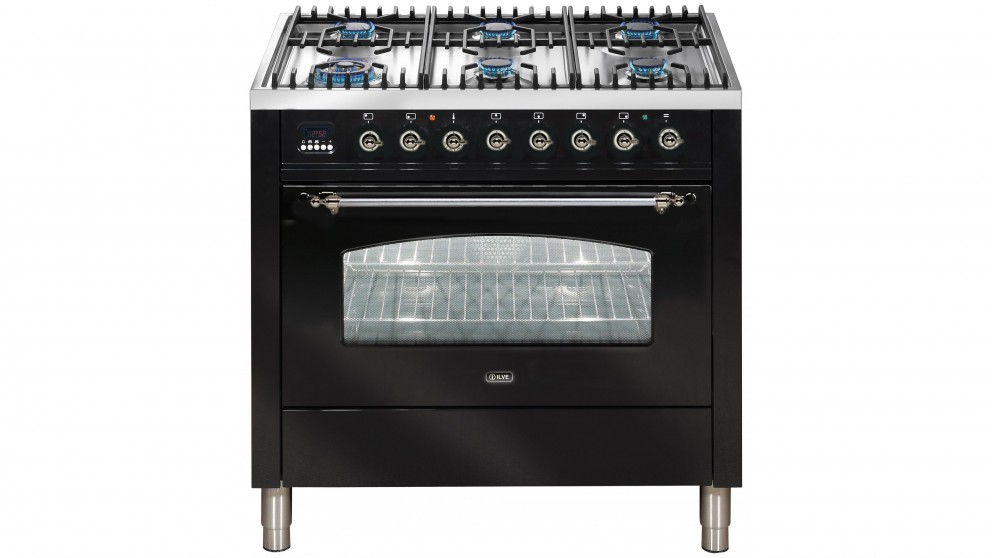 ILVE Nostalgie Series 900mm Dual-Fuel Freestanding Cooker