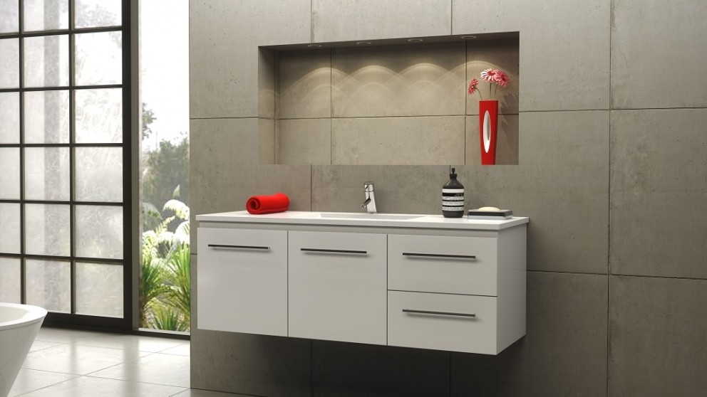 Buy Timberline Austin 1200 Wall Hung Vanity | Harvey Norman AU