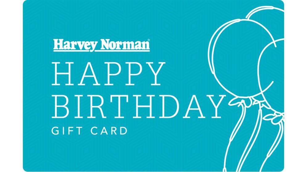 Harvey norman gift card happy birthday gift cards harvey harvey norman gift card happy birthday negle Gallery