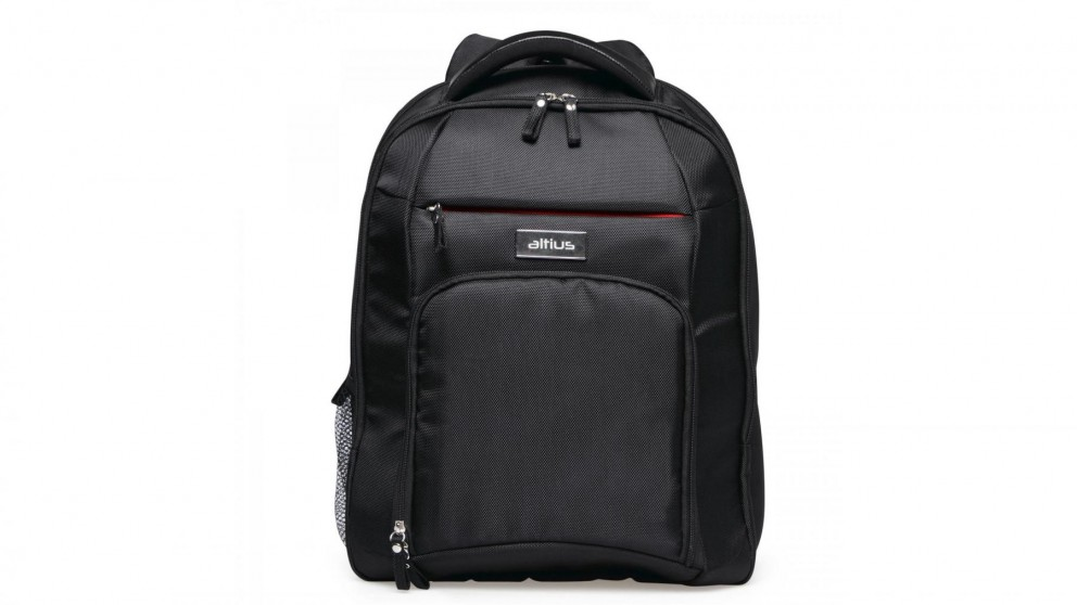 "Altius Up to 15.6"" Backpack/Laptop Bag with Mouse & USB Bundle"