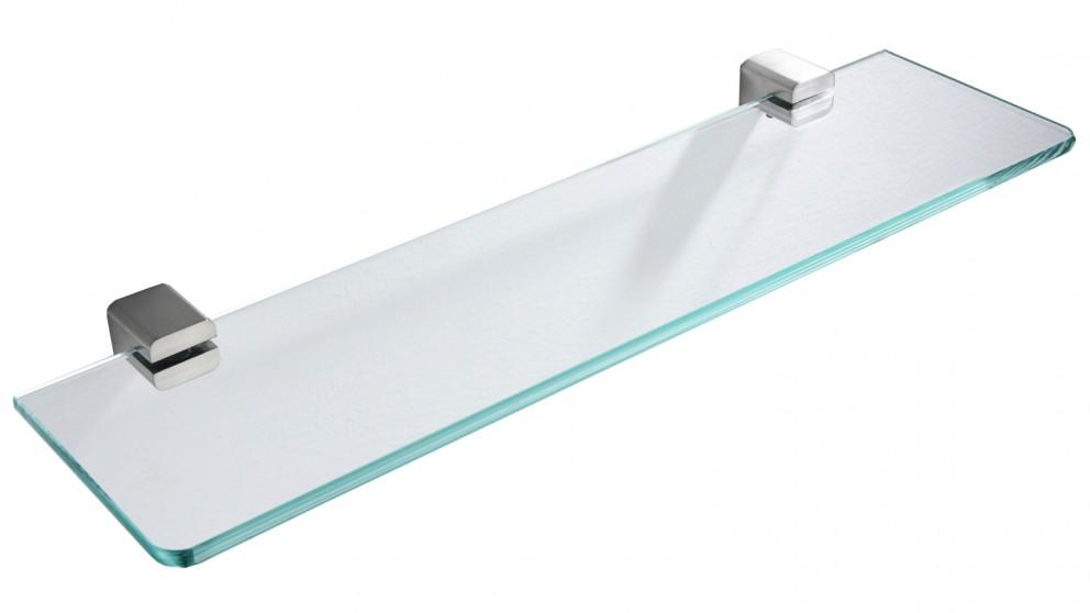 PLD Surface Glass Shelf - Satin Nickel