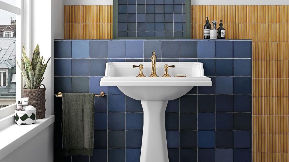 Magma 132x132mm Sea Blue Matte Wall Tile