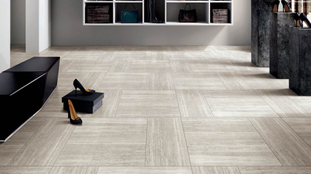 Senza Grey 600x600mm Matte Tile
